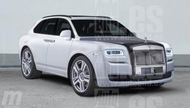 Rolls-Royce prepara un SUV más pequeño que el Cullinan