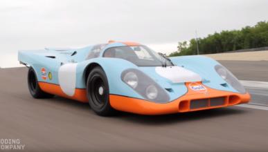 A subasta el Porsche 917K de 1970 de Steve McQueen