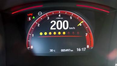 Vídeo: así pasa de 0-200 km/h el nuevo Honda Civic Type R