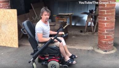 La silla de ruedas eléctrica que 'conduce' Richard Hammond
