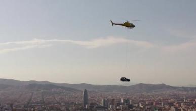 Vídeo del Seat Arona volando por Barcelona