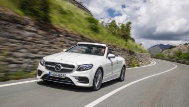 Mercedes Clase E Cabrio 2017 movimiento