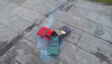 VÍDEO: Un 'fidget spinner' de coches
