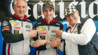 Álex Márquez renueva con Marc VDS y seguirá en Moto2
