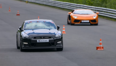 Vídeo: Lambo Aventador biturbo vs Nissan GT-R vs BMW M6