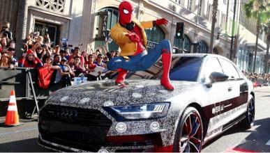 El Audi A8, en el estreno de 'Spider-Man: Homecoming'