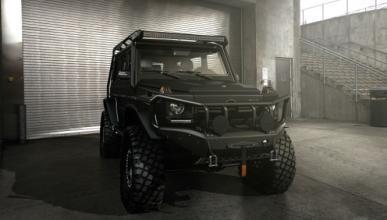 Batman estaría orgulloso de este Mercedes Clase G