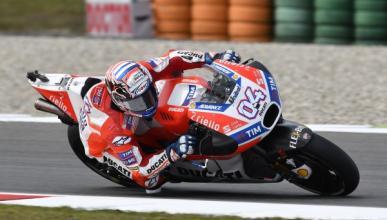 Libres MotoGP Alemania 2017: Dovizioso sigue de dulce
