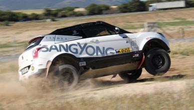 Prueba SsangYong Tivoli Rally Raid (I)