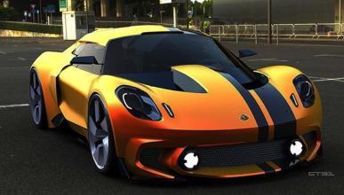 Lotus Elise 2020 render