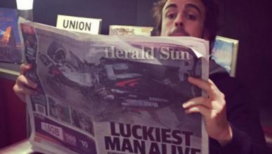 Las 10 claves por las que Alonso salva la vida en Australia