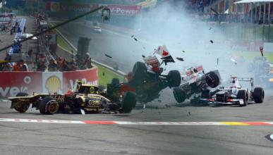 5 maniobras tan sucias (o más) que el choque de Vettel
