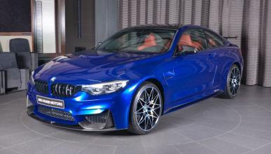 BMW M4 San Marino Blue