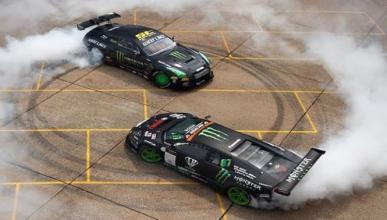 Vídeo: Lamborghini y GT-R se enfrentan en BattleDrift 2