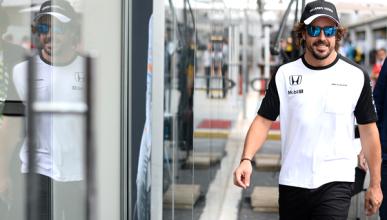 Alonso acaba en Brasil pero no se libra de los problemas