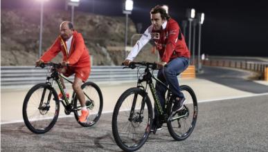 """Alonso sobre Botín: """"Planeábamos otra vuelta en bici"""""""