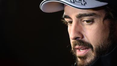 Alonso completa un buen día en su vuelta al simulador