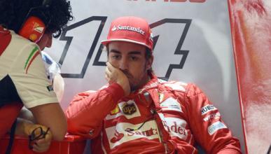 """Alonso se enfada: """"Cada jueves apago incendios de Italia"""""""