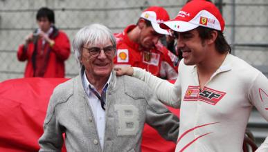Alonso, en el equipo ideal de Bernie Ecclestone