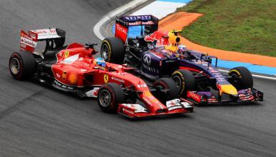 Alonso está sorprendido por el gran trabajo de Ricciardo