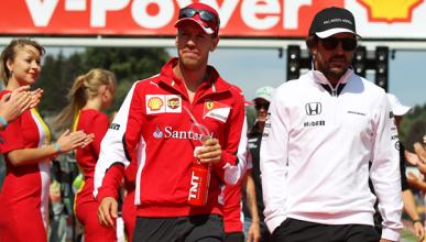 """""""A Alonso le falta lo que hace Vettel fuera de pista"""""""