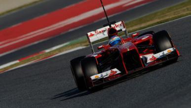 Alonso - Ferrari - Tests - Montmelo - 2013