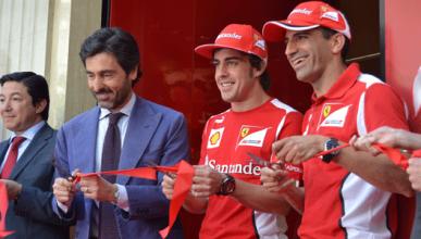 Alonso, Gené, inauguración, Ferrari