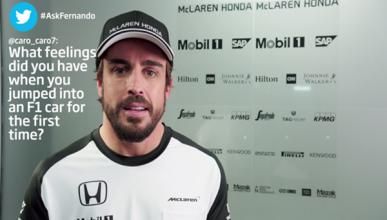 """Alonso: """"he vuelto para volver a poner el uno en el coche"""""""