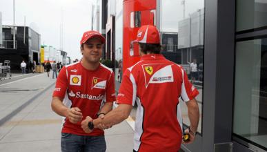 Alonso - Massa - Ferrari - 2012