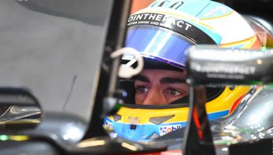 """Alonso: """"el motor nuevo parece que da lo que esperamos"""""""