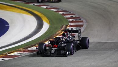 Alonso no defrauda en Singapur: séptimo y con ritmo