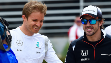 Alonso, una opción para Mercedes si Rosberg no renueva