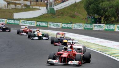 Alonso - Vettel - GP Brasil