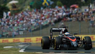 Alonso vuelve a brillar y acaba quinto en Hungría