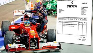Alonso - Webber - taxi Singapur