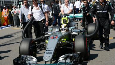Así evitó Mercedes que Hamilton saliese desde el pit-lane