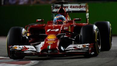 Así fue el directo de la clasificación del GP Singapur 2014