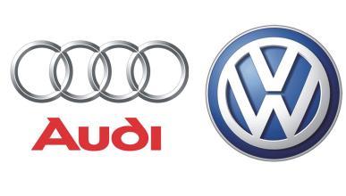 Logos de Audi y VW