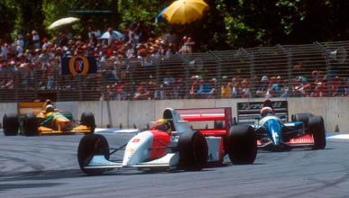 Ayrton Senna - McLaren - GP Australia 1993