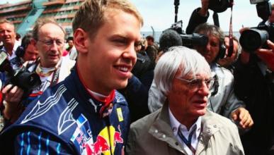 Bernie Ecclestone  - Sebastian Vettel