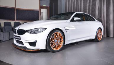 BMW M4 GTS en color Alpine White
