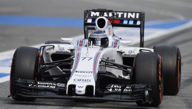 Bottas lidera en el último día de pretemporada F1 2015