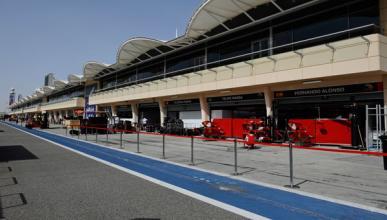 Box Ferrari Circuito Bahrein