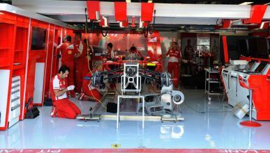 Box Ferrari Monza GP Italia 2013