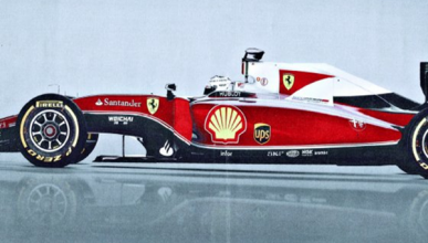 El cambio de decoración de Ferrari en 2016 gana peso