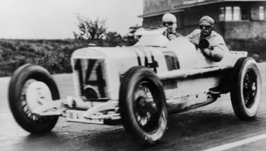 Caracciola - Mercedes - Avus - 1926