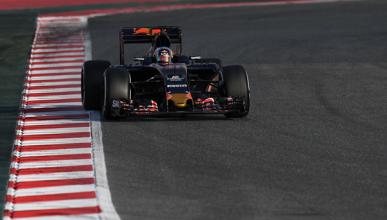 Carlos Sainz, 166 vueltas en Montmeló