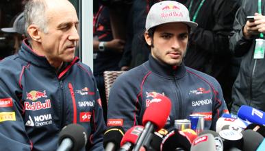 Carlos Sainz recibe el OK para correr en el GP Rusia 2015
