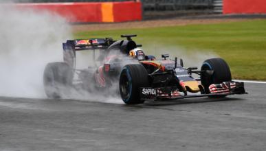 Carlos Sainz, satisfecho con el test de Silverstone