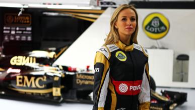 Carmen Jordá, nueva piloto de desarrollo de Lotus F1